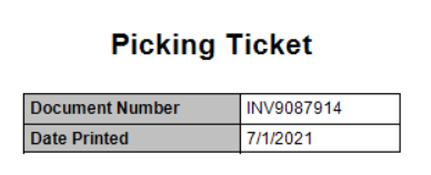 SSRS picking ticket in Dynamics GP
